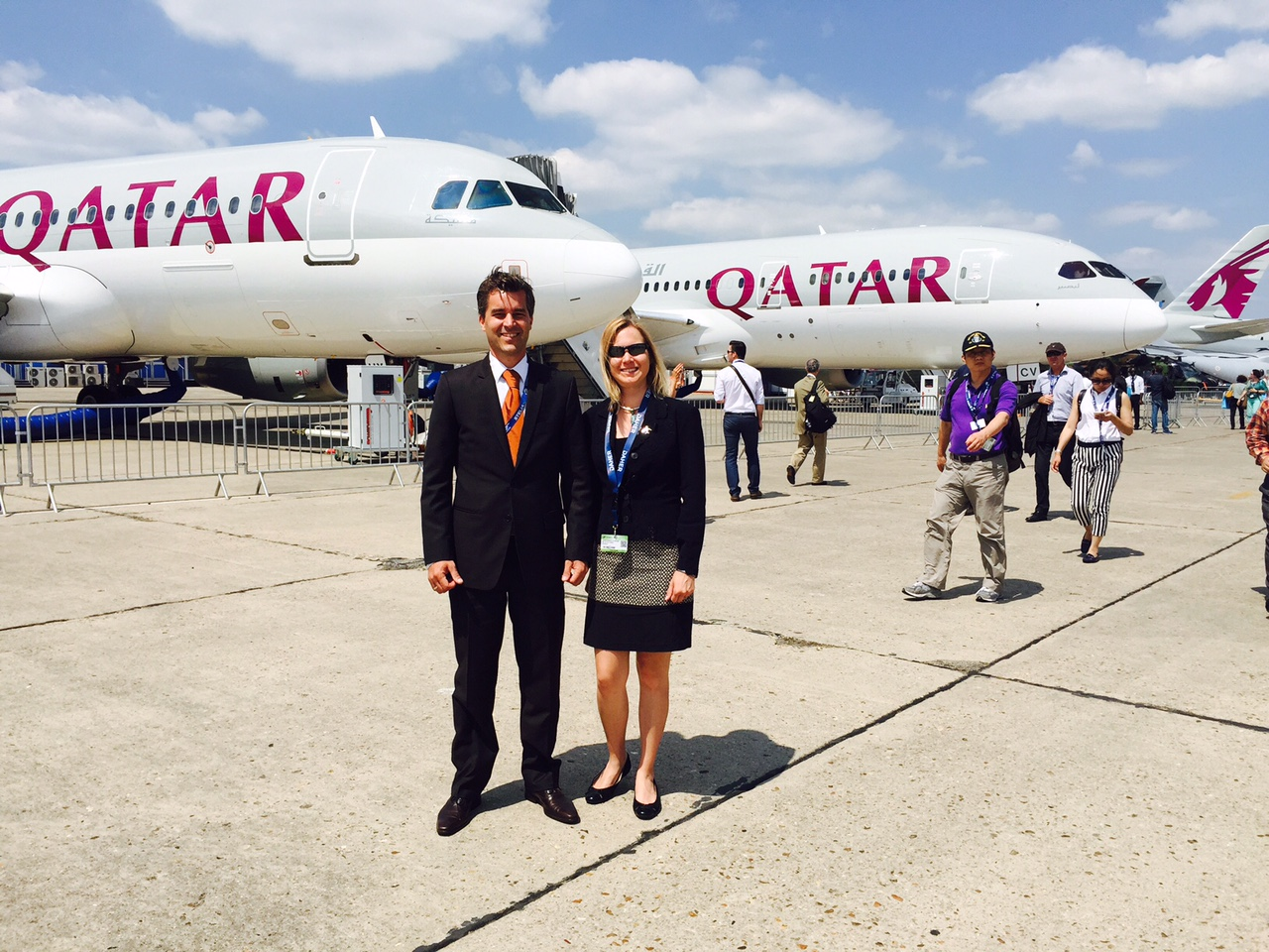 A busy week at the salon du bourget airbusiness academy for Salon de bourget